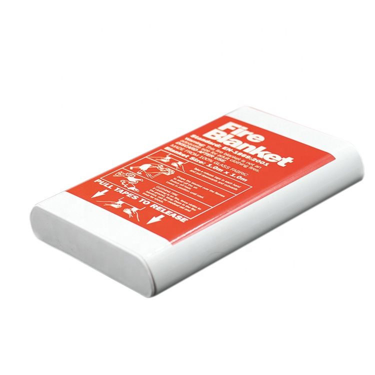 China marine fire blanket,Fire blanket roll,Fire Blankets in a red bag