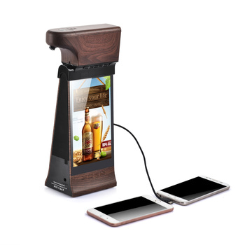 FYD-868Plus X 8 Inch touch screen Android Digital Ads Display Table Top kiosk advertising player with Auto Dispenser