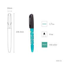 Маркеры для дизайна ногтей, 8 цветов, тонкие неперманентные маркеры Monami 1,7 мм для домашнего декора, корейские Канцтовары для девочек, A6472(Китай)