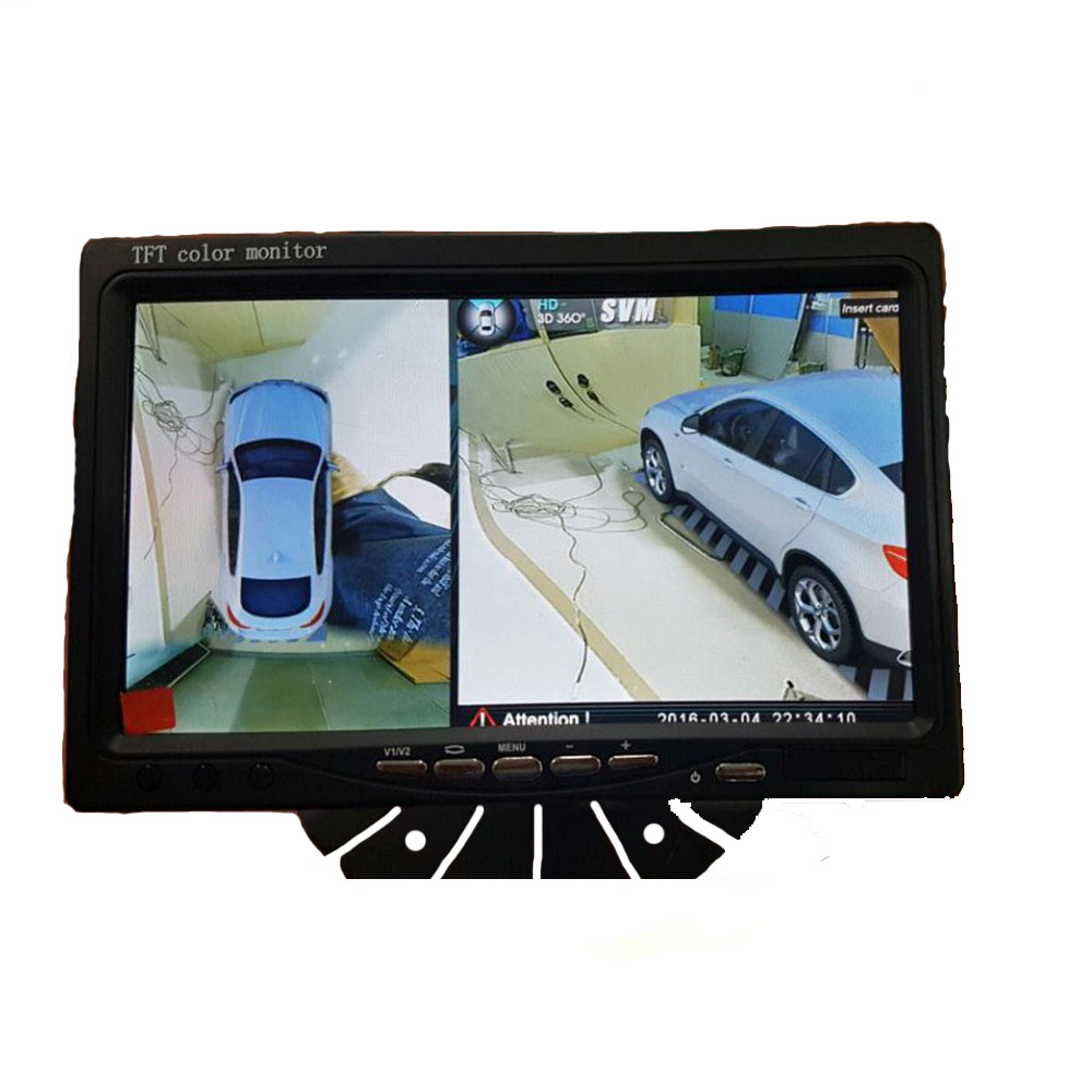 Auto Electronics Wireless Trigger Control Car monitor 7 inch LCD Color HDMI Monitor/H split/ <strong>1</strong> For All Car