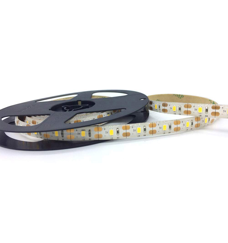 Solar Powered LED Strip Light 9.8FT/3M 90LEDs (30LEDs/M) 6500K Cool White Color IP65 Waterproof with Solar Panel