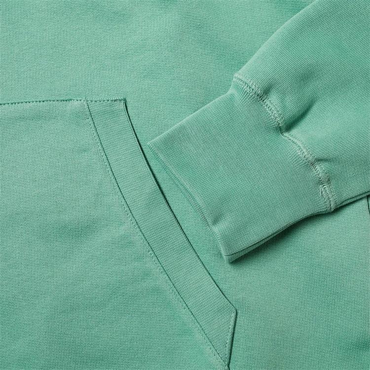 OEM Custom geometric printing 100% organic cotton hoodies for men