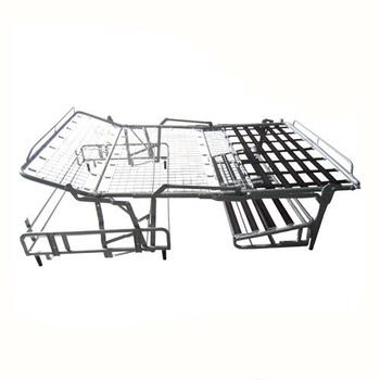 Metalen Bedframe 1 Persoons.Fj 017 Populaire Ijzer 3 Fold Slaapbank Mechanisme Metalen Bed Frame Buy 3 Voudige Slaapbank Mechanisme Metalen Bed Frame Goedkope Metalen Bedframe