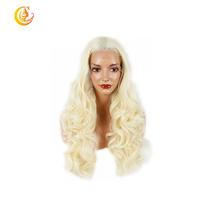 Wholesale high quality wigs natural lace front synthetic wigs