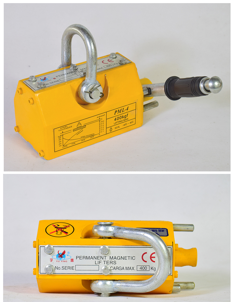 Factory Direct Sale PML4 Permanent Magnetic Lifter for Lifting Steel and Iron