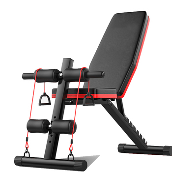 Foldable Strength Training Fitness Equipment Bench Press Barbell Bed Squat Rack Gym Weight Lifting Bench