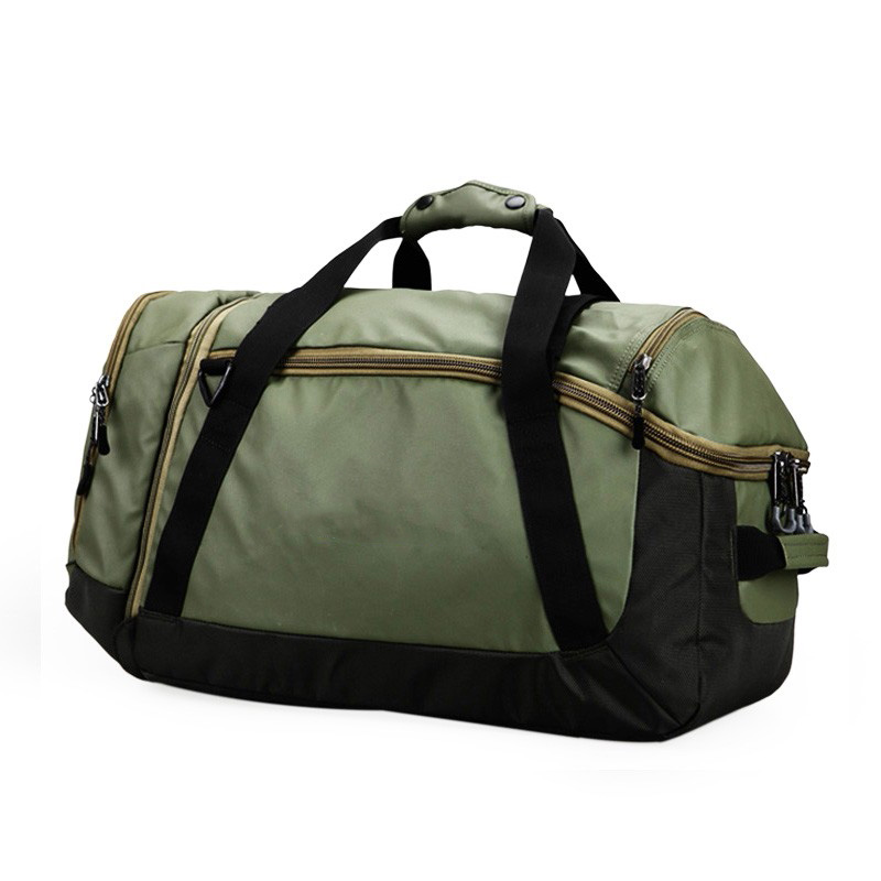 Latest Model Multipurpose Canvas Garment Wet Dry Duffel Gym Private Label Travel Bag With Logo Duffle Bag For Travel Gym Sport