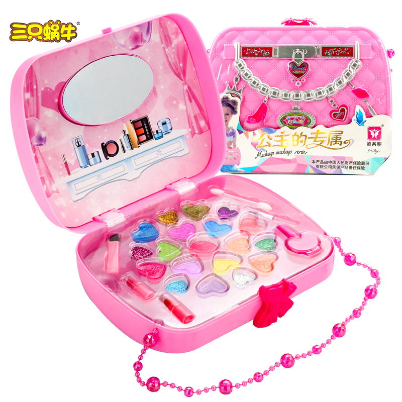 Funny role play game Makeup set Toys Pretend Play beauty Decoration with Bracelet