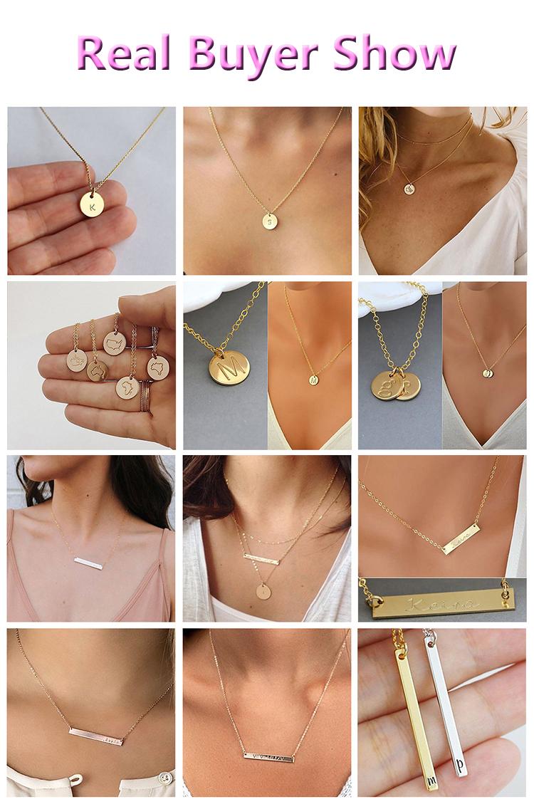 ホット販売ステンレス鋼のハートネックレス色あせない 2 部品親友友情のネックレス永遠