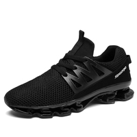 Get $1000 coupon new design mesh and TPR blade sole sport men running shoes sneaker,men spring air brand blade shoes