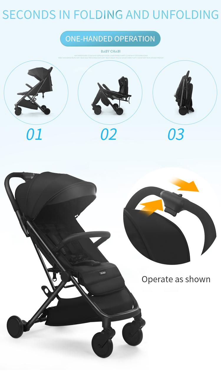 Neonato Pieghevole carrozzina 2 in 1 di lusso carrozzina del bambino baby jogger città passeggino