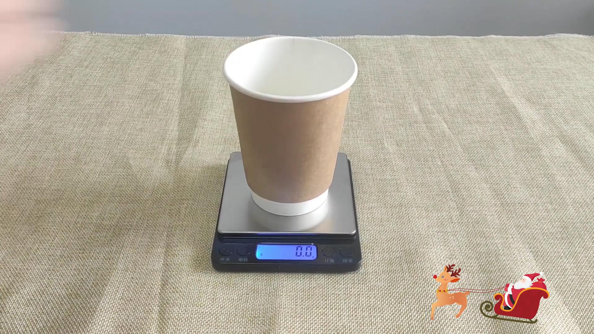 Eco Friendly Qualidade Alimentar Papel Kraft Brown Cor Para 4OZ Café Quente Copo De Papel Com Tampa