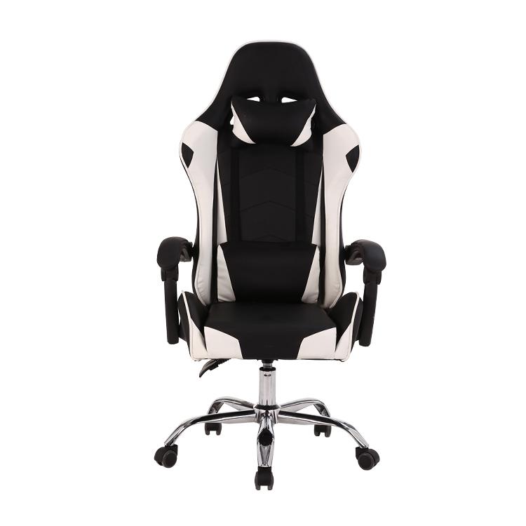 नि: शुल्क नमूने पीसी कार्यालय रेसिंग कंप्यूटर बिच्छू Reclining चमड़े Autofull Gamer Dropshipping एलईडी गेमिंग कुर्सी Footrest के साथ