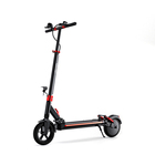 Electric Joyor G5 Rear Drum Brake Electric Scooter 48V 500W 9inch E Scooter Seat For Adults