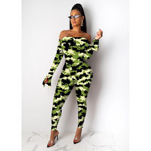 ANJAMANOR полосатый прозрачный сетчатый сексуальный комплект из 2 предметов женские костюмы осень зима 2020 комплект для ночного клуба боди Топ и ...(Китай)