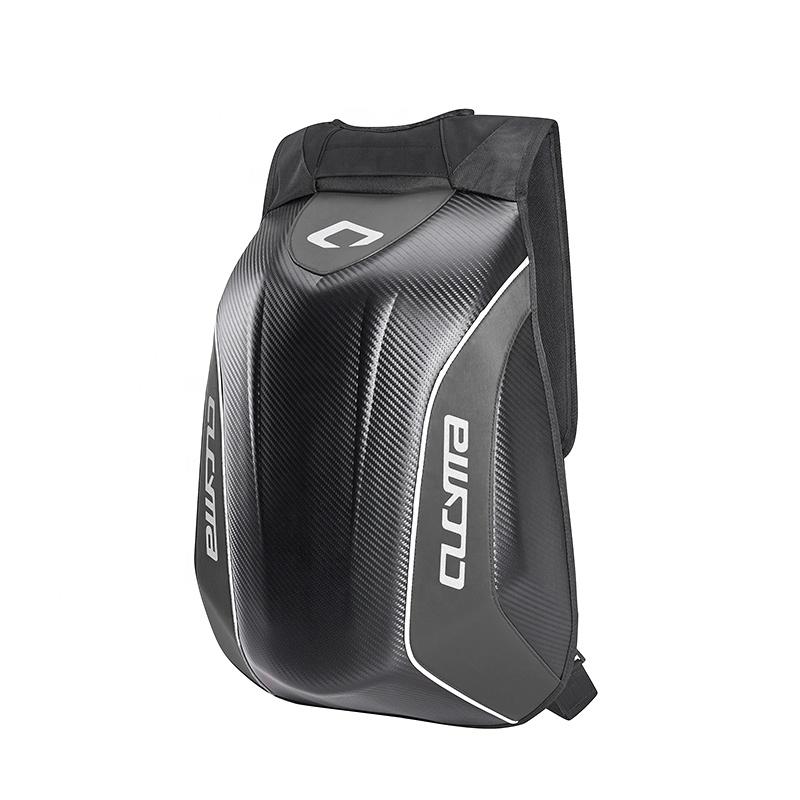CUCYMA High Quality Mochila dura Recycled Travel Sport PU Shell Motorcycle Hard Helmet Backpack