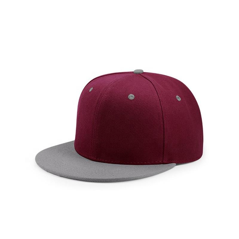 Оптовая продажа 3D вышитый логотип пустой Простой Snapback частный ярлык кепки