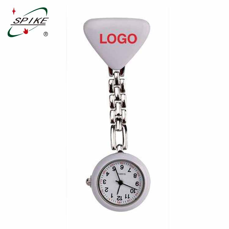 Nurse silicone quick release pin watch