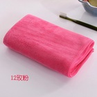 Manufacturers selling speed can be embroidered LOGO sports fitness salon bibulous microfiber towel dry hair towel