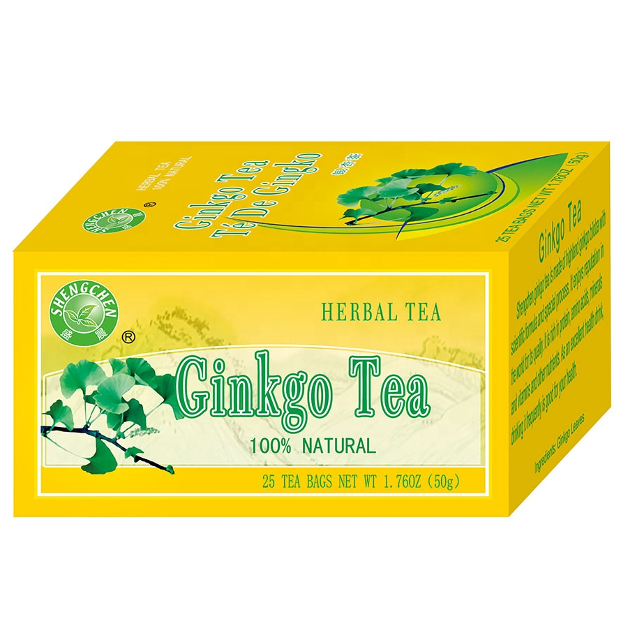 Herbal Tea For High Blood Pressure Hypertension Works Effective Ginkgo Herb Teabag (Organic Ginkgo Leaves) - 4uTea | 4uTea.com