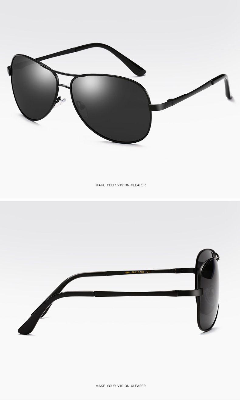 custom black flys sunglasses fashion design for driving-21