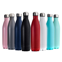 Wholesale 500ml customized stainless steel travel sports bottle thermos mug
