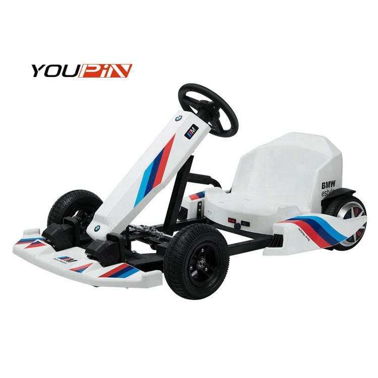 Good Quality 4 Wheel  Electric Go Carts Racing Karts Sets For Adults Racing  kart Diy go-kart
