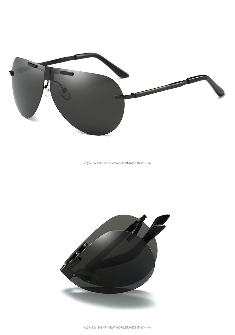 Fuqian folding sunglasses for business for driving-17