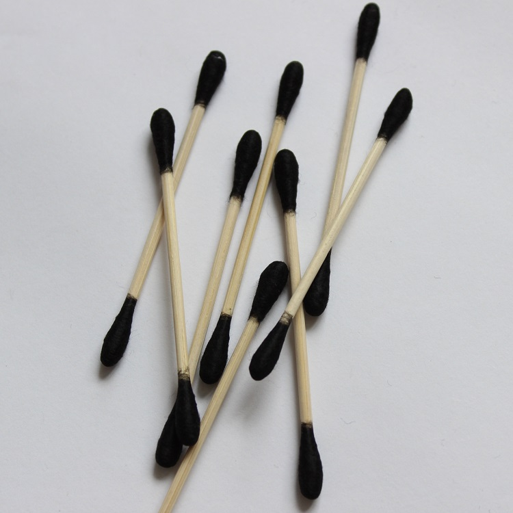 High Quality Sterile Double-end wooden stick cotton pud swab
