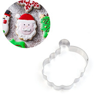 Christmas Theme Hot Sell Beautiful Pirate Cookie Santa Claus Shape Cake Molds