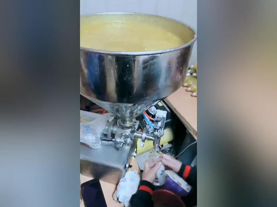 KA PACKING semi automatic soybean paste/sachet tomato paste  filling machine