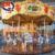 Henan limeiqi grand carousel horse 16 seats merry go round antique carousel