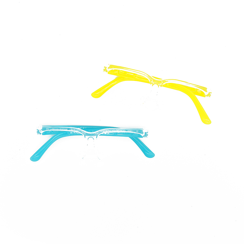 Factory Hot Contact Sale Reusable Headband Hat Adjustable Double Transparent Plastic glasses for face shield