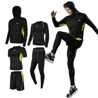 Custom Men Running Clothing Gym Sports Quick Dry Fitness Yoga Wear Sportswear Tracksuit