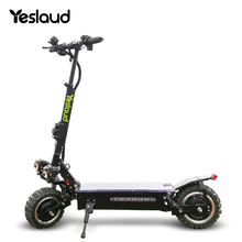 Yeslaud 60v 3200w eléctrico scooter off road scooter Eléctrico plegable escooter con alarma