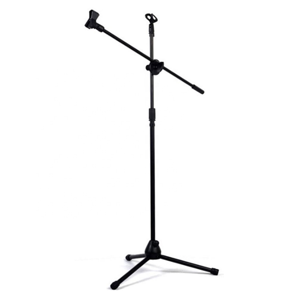 Fornecimento de fábrica oem tripé flexível suporte de chão estilo base redonda suporte de microfone