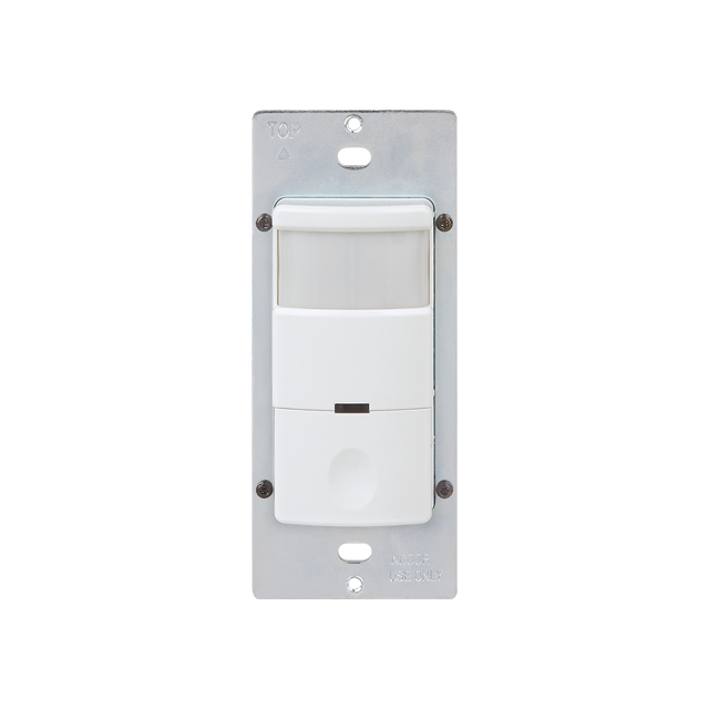 Passive Infrared Single Pole OCC/VAC Motion Sensor Light Switch NO Neutral Wire