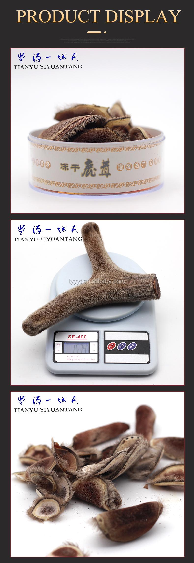 무료 배송/100g 다른 중국 의학 사슴 혈액 사슴 뿔 라운드 슬라이스 의료 제품