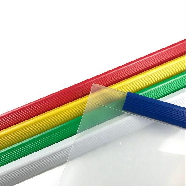 Plastic slide folder stick file folder