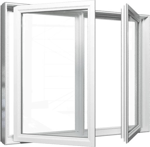 aluminum alloy double glazed casement door and window designs price