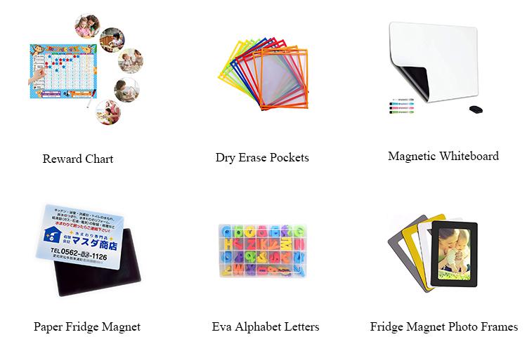 2020 Новый дизайн фабрика белая доска календарь ежемесячный планировщик магнит на холодильник магнитная белая доска лист