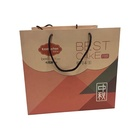 Hot sale recycled eco-friendly beautiful color craft paperbag kraft gift/cake/shopping/food/coffee/wine paper bag