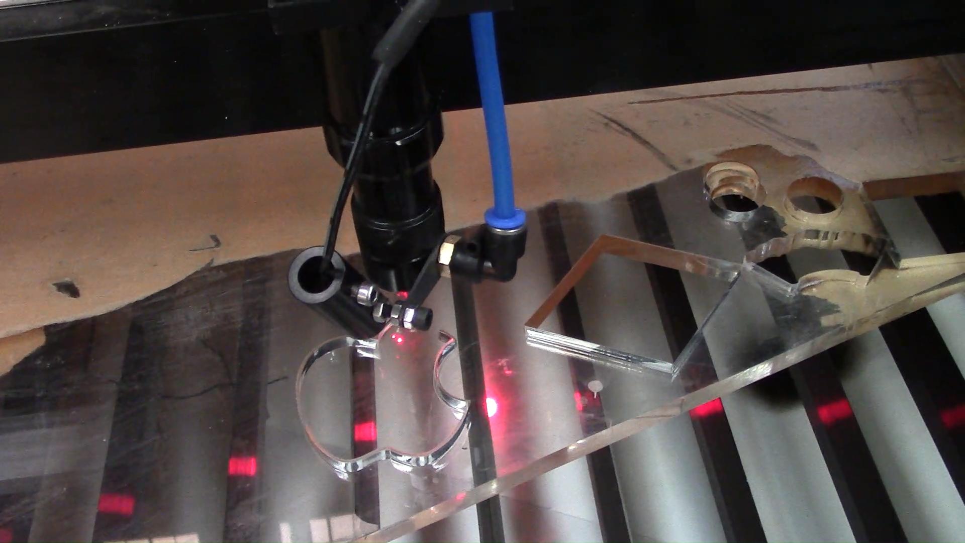 Laser Engraver Cutter 1080 90 W W2 Reci Ruida 6442 S Controller Ukuran Kerja 1000*800 untuk Kayu Akrilik kulit Kayu Lapis