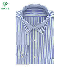 Hohe qualität Langarm 100% baumwolle büro mens weiß Dunkle farbe business formale shirts