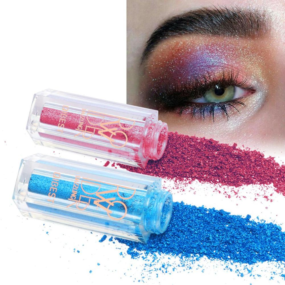 OEM <strong>cosmetic</strong> 12 Colors Single Colors glitter powder eyshadow