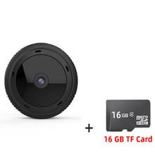 W10 Мини Wi-Fi камера 1080P HD ИК ночного видения, домашняя камера видеонаблюдения, детектор движения, радионяня, DVR видеокамеры(Китай)