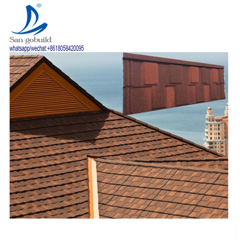 Roofing Materials Nigerian Building Materials New Zealand Colorful Stone Coated Steel Roofing Tiles in Ghana Kenya