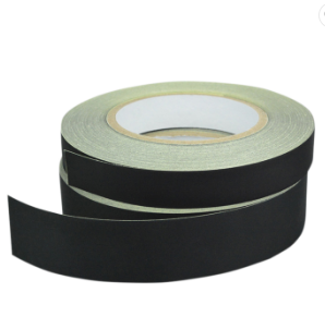 Flame retardant black acetate cloth insulation tape for different transformer configurations and requirements