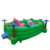 Outdoor Green Jumper PVC Material Inflatable Bouncy Playground Dinosaur Inflatable Bouncer For Children