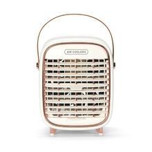 Мини Кондиционер Портативный Воздушный Охладитель 7 цветов светодиодный USB персональный космический кулер вентилятор воздушный охлаждающ...(Китай)